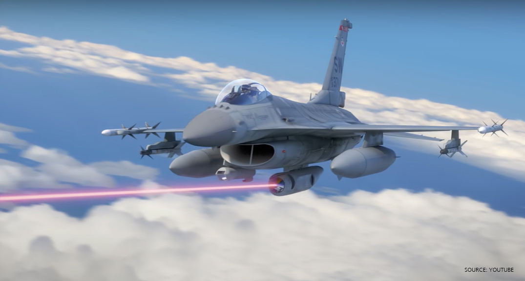 USAF stealth fighter jets set to have laser weapons systems by 2025