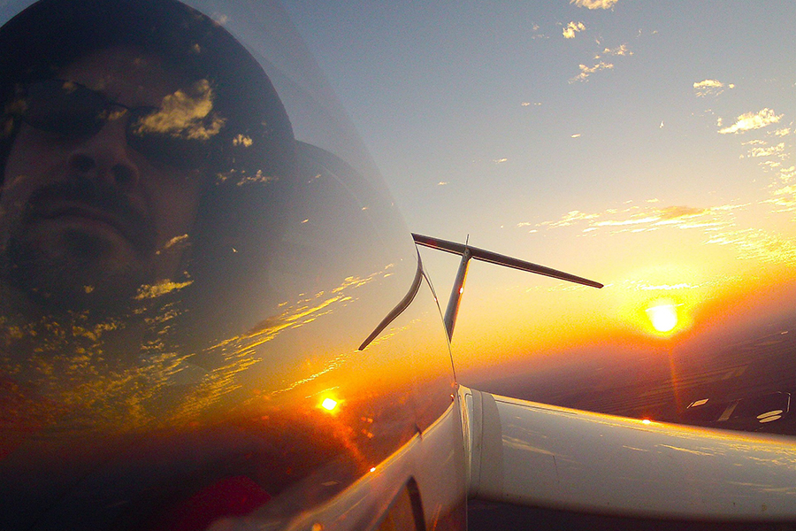 What makes an aviator a hero?