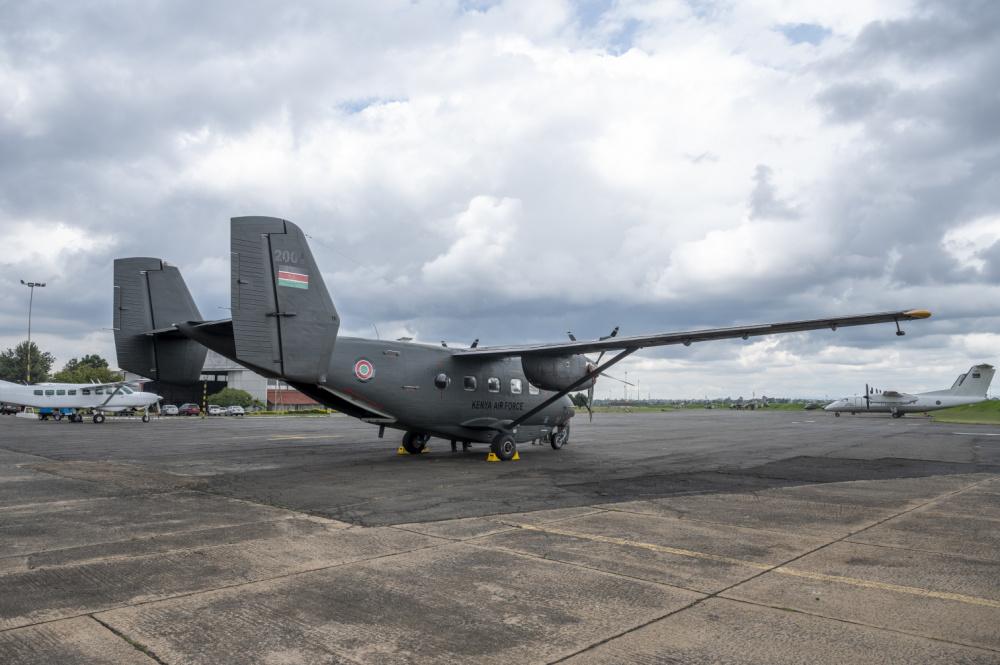 A second C-145A Skytruck for Kenya